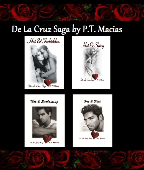 De La Cruz Saga by P.T. Macias  ~  click on photo to go to website.