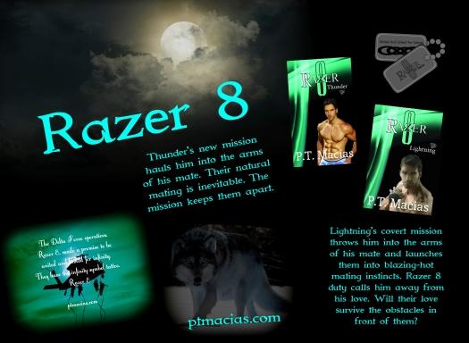Thunder, Razer 8 & Lightning, Razer 8 By P.T. Macias 4.28.14